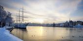 Vinter i Stockholm City