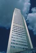 Skyskrapa i Frankfurt am Main, Tyskland