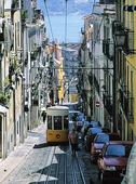 Spårvagn i Lissabon, Portugal