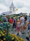 Marknad i Kungsbacka, Halland