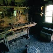 Mature carpentry workshop