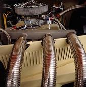 Motor på veteranbil