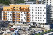 Årstadal bygge i Stockholm