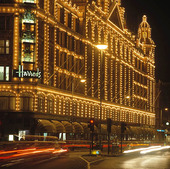 Harrods i London, Storbritannien