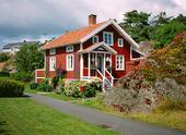 Röd villa