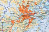 Stockholm på karta