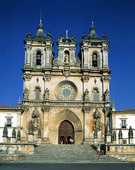 The Monastery i Alcobaca , Portugal