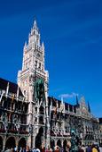 Gamla stadshuset i München, Tyskland