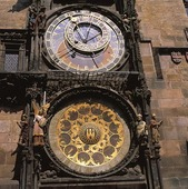 Astronomisk klocka i Prag, Tjeckien
