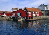 Sjöbodar på Käringön, Bohuslän