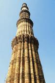 Minaret Qutab Minar i New Delhi, Indien