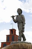 Staty Gruvarbetaren vid Falu gruva, Dalarna