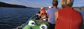 Familj i båt
