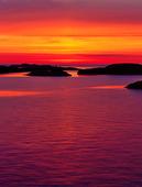 Solnedgång i Bohuslän