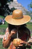 Mexican dricker kokosmjölk