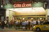 Premiär av Broadway Göta Lejon i Stockholm