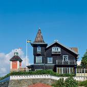Villa på Marstrand, Bohuslän