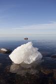 Isblock på havet