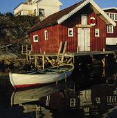 Sjöbod i Bohuslän
