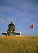 Väderkvarn på Jylland, Danmark