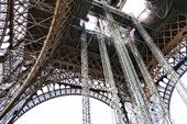Eiffeltornet, Tour Eiffel, Paris, Frankrike