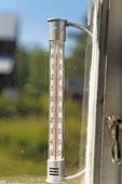 Värmebölja - 45 grader varmt
