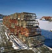 Fiskeredskap på vintern, Bohuslän