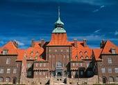Town Hall in Östersund, Jämtland