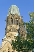 Bombade kyrkan i Berlin
