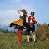 Folkdans, Österrike
