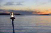 Lanterna på motorbåt