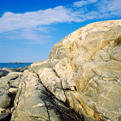 Klippa vid havet