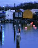 Vinterupplagda båtar