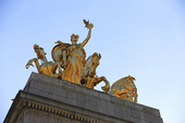 Christopher Columbus statue i New York, USA