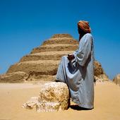 Trappstegspyramiden i Sakkara, Egypten