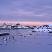 Vintern på Fotö, Bohuslän