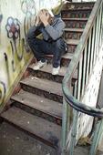 Pojke i trappa