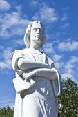 Christopher Columbus staty i Boston, USA