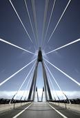 Uddevallabron i Bohuslän, manupulerad bild