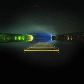 Belysning i sjö