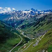 Furkapasset, Schweiz