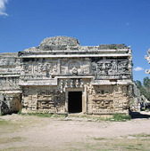 Arkitektur av Mayas i Uxmal, Mexico