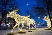 Juldekoration i Stockholm