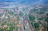Flygbild över Göteborg
