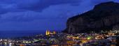 Cefalu på Sicilien, Italien