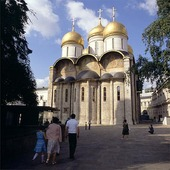 Kyrka i Moskva, Ryssland