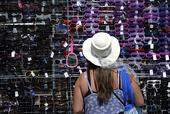Försäljning av solglasögon