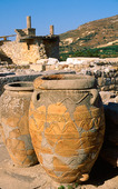 Pots of Knossos on Crete, Greece
