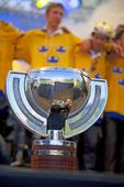 VM-guld i ishockey för Sverige