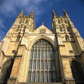 Katedralen i Canterbury, England